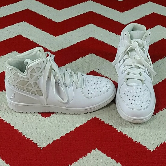 a4fc0d154c2 ... discount nike air jordan 1 flight 3 bg shoes white boys 5.5 b4d1e d73d1